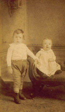 Unidentified two children
